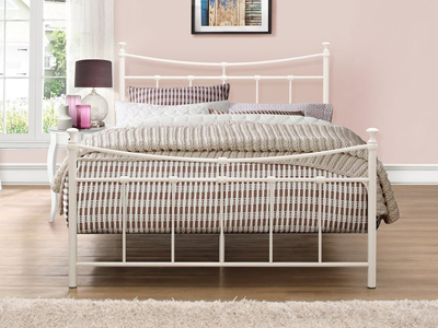 Birlea Emily 4FT Small Double Metal Bedstead