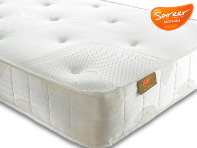 Sareer Reflex Plus Coil 4FT Small Double Mattress
