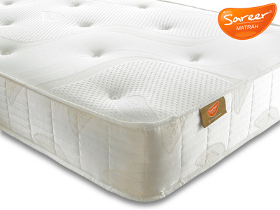 Sareer Pocket Reflex Plus 4FT Small Double Mattress