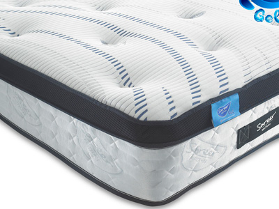 Sareer Gel Pocket Memory 6FT Superking Mattress