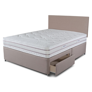 Sleepeezee Pirelli 200 Series 4FT 6 Double Divan Bed