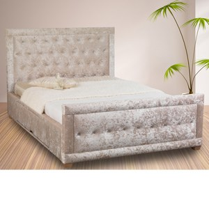Sweet Dreams Matrix 4FT 6 Double Fabric Bedframe