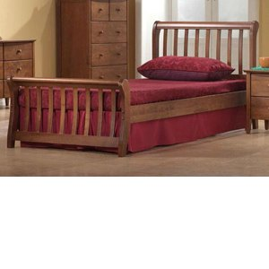 Artisan Milan Dirty Oak 3FT Single Wooden Bedstead