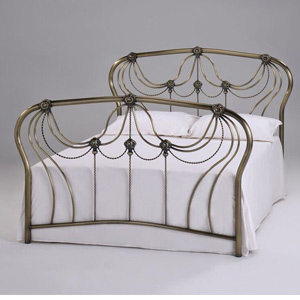Harmony Beds Katherine 4FT 6 Double Metal Bedstead