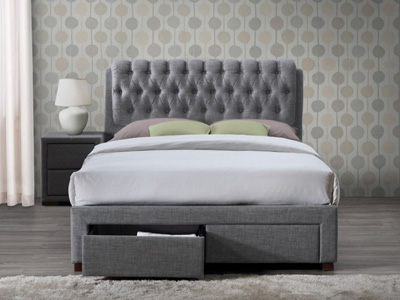 Birlea Valentino 5FT Kingsize Fabric Bedframe