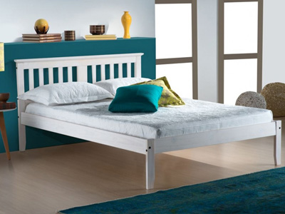 Birlea Salvador 4FT 6 Double Wooden Bedstead