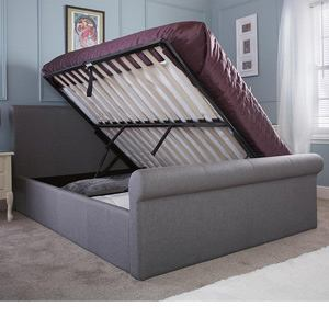Milan Bed Company Carolina 5FT Kingsize Fabric Bedframe