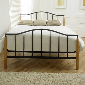 Limelight Beds Neptune 4FT 6 Double Metal Bedstead