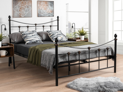 Julian Bowen Rebecca  Bed  - Black