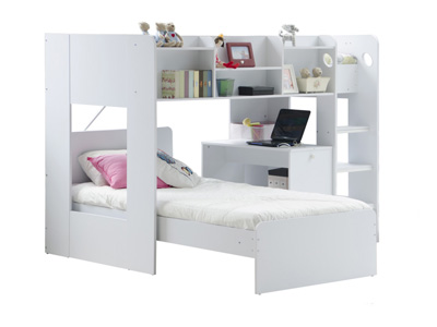 Flair Wizard L Shape Bunk Bed
