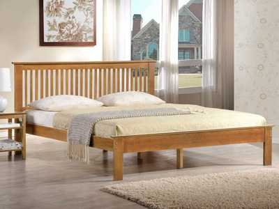 Harmony Beds Windsor  Wooden Bed - Oak
