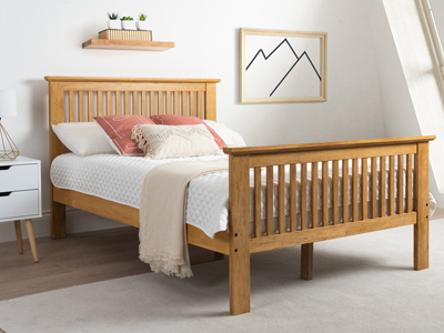 Harmony Beds Buckingham 4FT 6 Double Wooden Bedstead