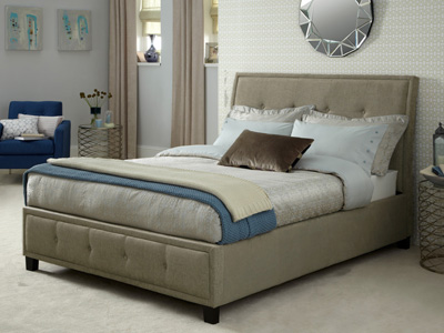 Serene Wesley 6FT Superking Fabric Bedframe