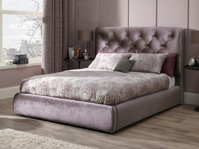 Serene Alexandra 6FT Superking Fabric Bedframe