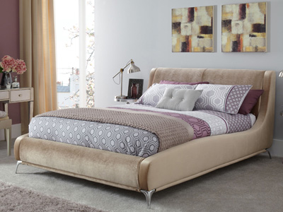 Serene Faye 6FT Superking Fabric Bedframe