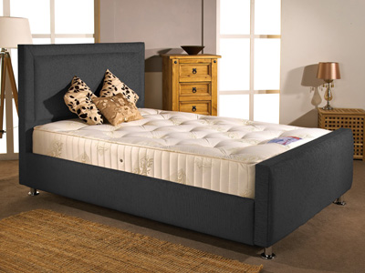 Aspire Furniture Calverton 3FT Single Fabric Bedframe