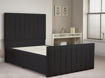 Aspire Furniture Hampstead 4FT Small Double Fabric Bedframe