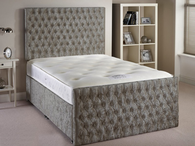 Aspire Furniture Provincial 5FT Kingsize Fabric Bedframe
