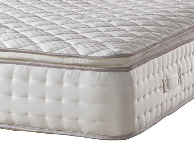 Deluxe Beds Sapphire Pillow Top 1500 4FT 6 Double Mattress