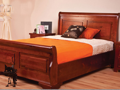 Sweet Dreams Jackdaw 5FT Kingsize Wooden Bedstead