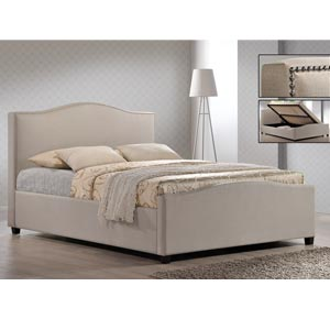 Time Living Brunswick 4FT Small Double Fabric Ottoman Bedframe