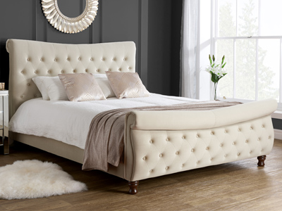 Birlea Copenhagen 5FT Kingsize Fabric Bedframe