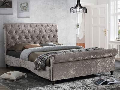 Birlea Brighton 4FT 6 Double Fabric Bedframe