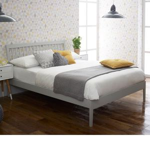 Limelight Beds Ananke 3FT Single Wooden Bedstead - Grey