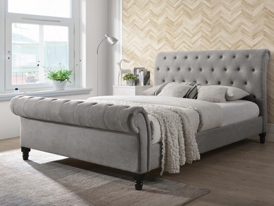 Sar Beds Fabio 5FT Kingsize Fabric Bedframe