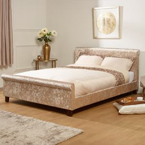 Serene Stella 6FT Superking Fabric Bedframe