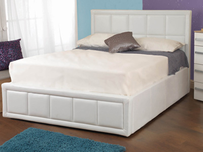 Sweet Dreams Tern 4FT Small Double Leather Ottoman Bed