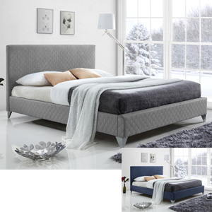 Time Living Brooklyn 5FT Kingsize Fabric Bedframe