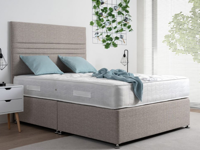 Giltedge Beds Deluxe Orthocare 4FT 6 Double Divan Bed