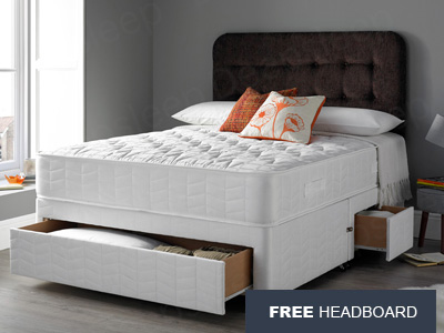 Giltedge Beds Ultimate Orthocare 5FT Kingsize Divan Bed