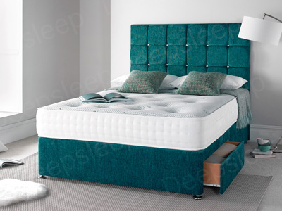 Giltedge Beds Inspirations 5FT Kingsize Divan Bed