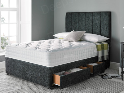 Giltedge Beds Comfort 1000 4FT 6 Double Divan Bed