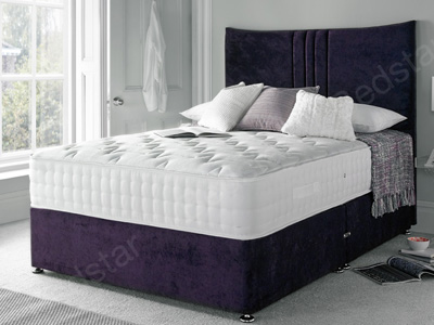 Giltedge Beds Huby 2000 6FT Superking Divan Bed