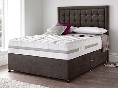 Giltedge Beds Tidworth 2000 4FT 6 Double Divan Bed