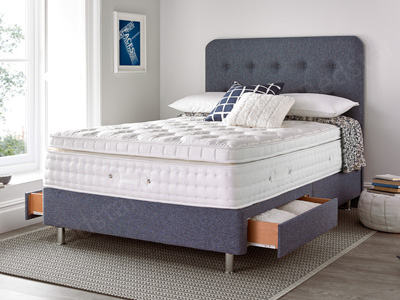 Giltedge Beds Fenham 3000 4FT Small Double Divan Bed