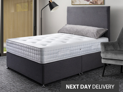 Giltedge Beds Clayton 3000 3FT Single Divan Bed