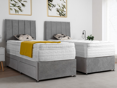 Giltedge Beds Canterbury Zip & Link 6FT Superking Divan Bed