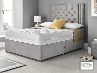 Giltedge Beds Enchantment Zip & Link 6FT Superking Divan Bed