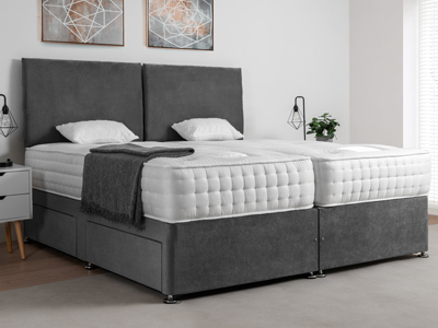 Giltedge Beds Cranwell 1500 Zip & Link 6FT Superking Divan Bed