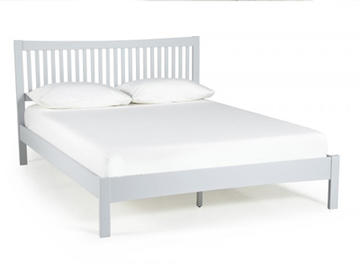 Serene Mya 5FT Kingsize Wooden Bedstead - Grey