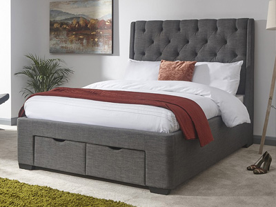 Milan Bed Company Koln  Fabric Bed