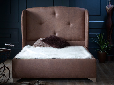 Oliver & Sons Hector 5FT Kingsize Ottoman Bed