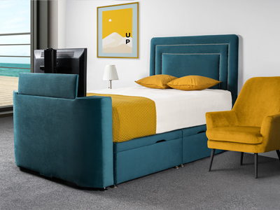 Sweet Dreams Image Deluxe 6FT Superking TV Bed