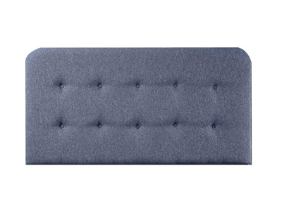 Giltedge Beds Dallas 4FT 6 Double Fabric Headboard - On Struts