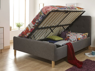 Milan Bed Company Ashbourne 5FT Kingsize Ottoman Bed
