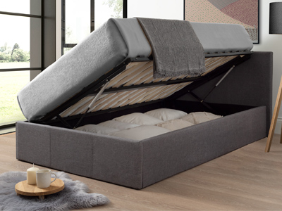 Milan Bed Company Side Lift  Ottoman Bed